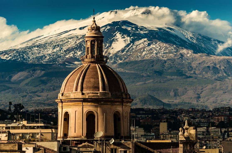 Die Basilica in Catania