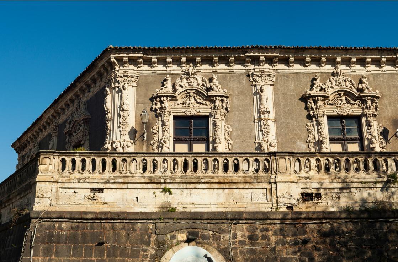 Der Palazzo Biscari in Catania