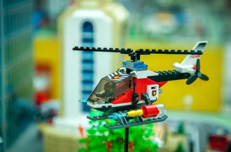 Lego-Hubschrauber