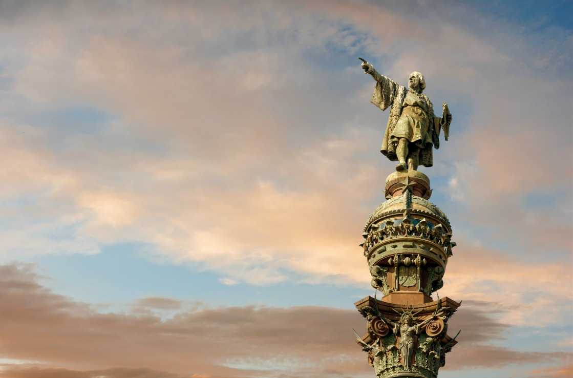 Columbus-Statue in Barcelona