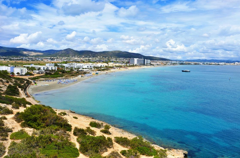 Stadtstrand bei Ibiza-City