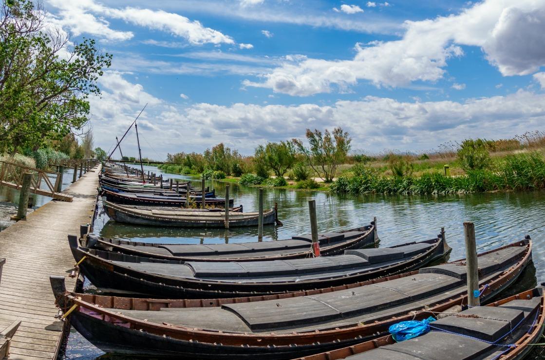 Boote in Valencia