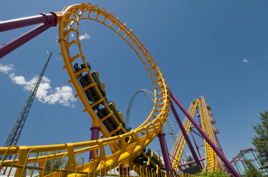 Achterbahn in Elitch Gardens