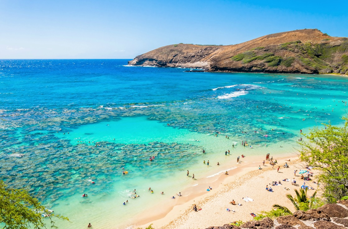 Hanauma Bay in Honolulu