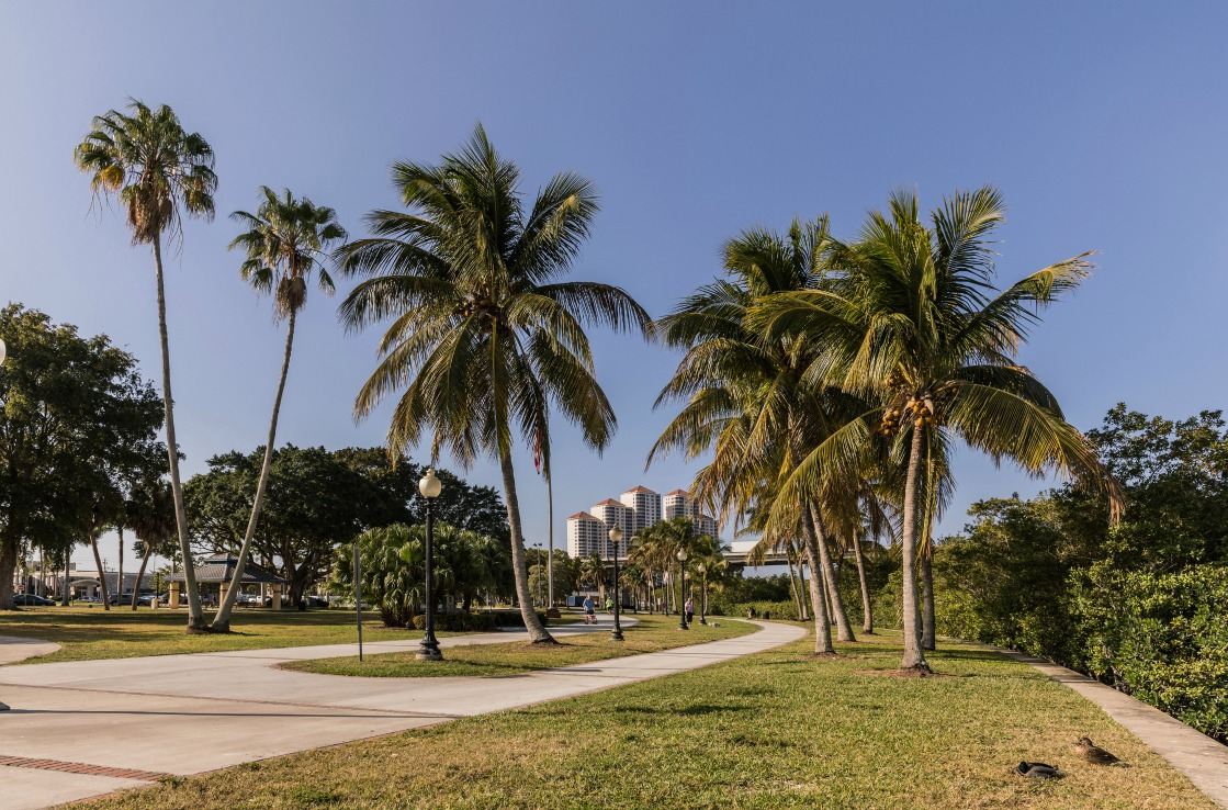 Centennial Park in Fort Myers