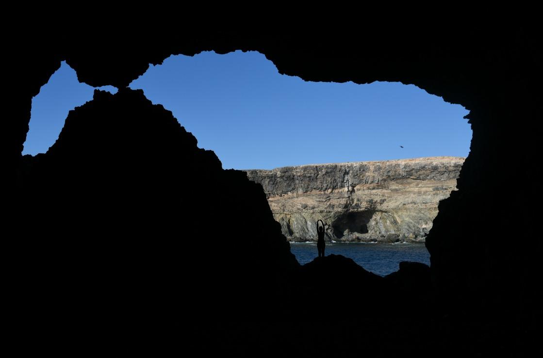 Los Molinos Höhle auf Fuerteventura
