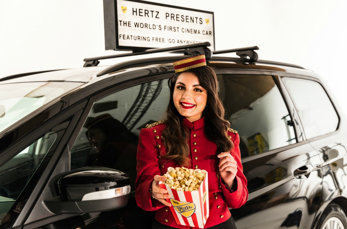 Welcome to the Cinema Car experience