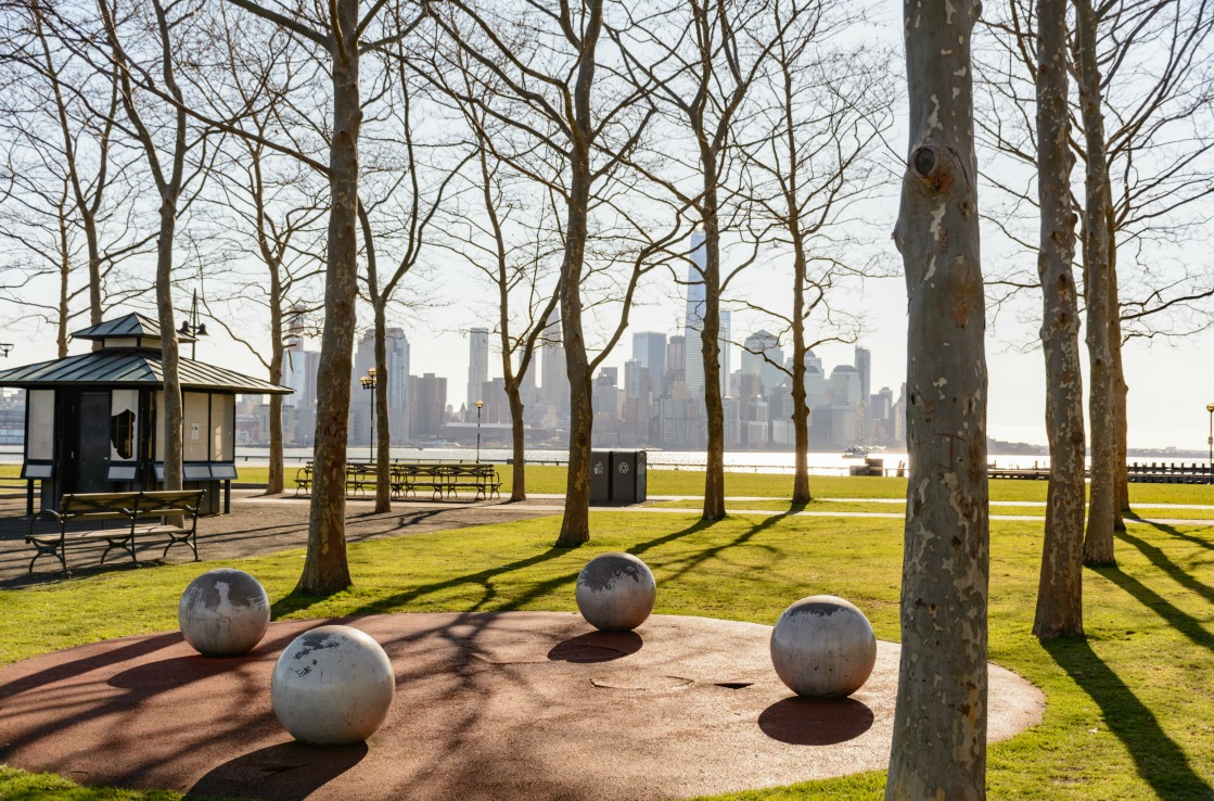 Der Liberty State Park in New Jersey