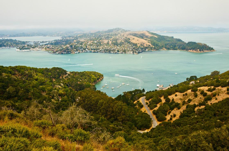 Angel Island bei Oakland, Kalifornien
