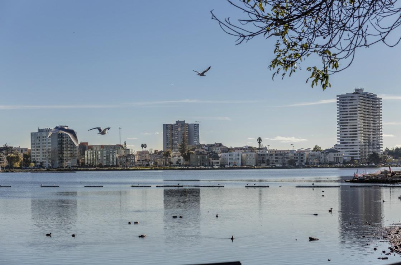 Der Lake Merritt bei Oakland, Kalifornien