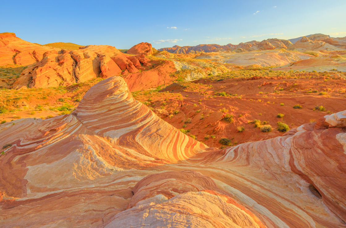 Valley of Fire in Nevada bei Las Vegas