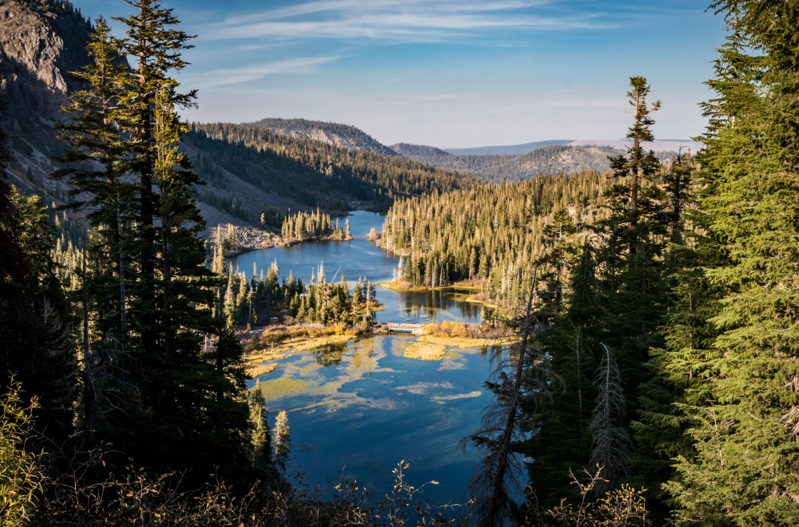 Die Mammoth Lakes in Kalifornien