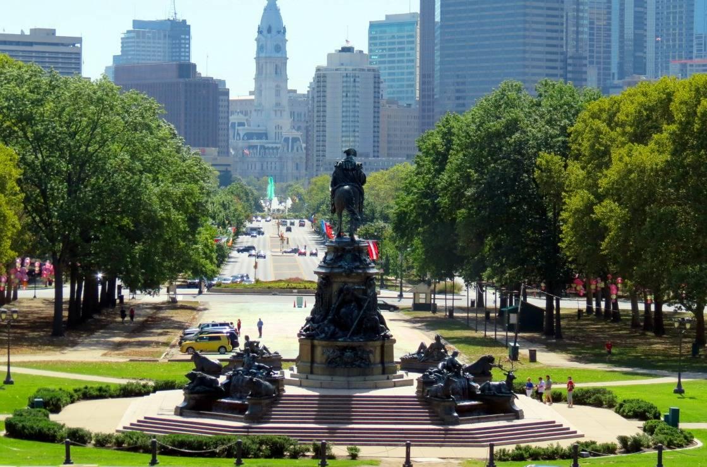 Rocky-Statue in Philadelphia.