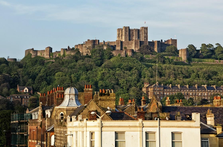 Dover Castle in Südengland