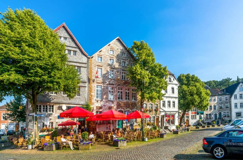 Markt in der Aachener Innenstadt.