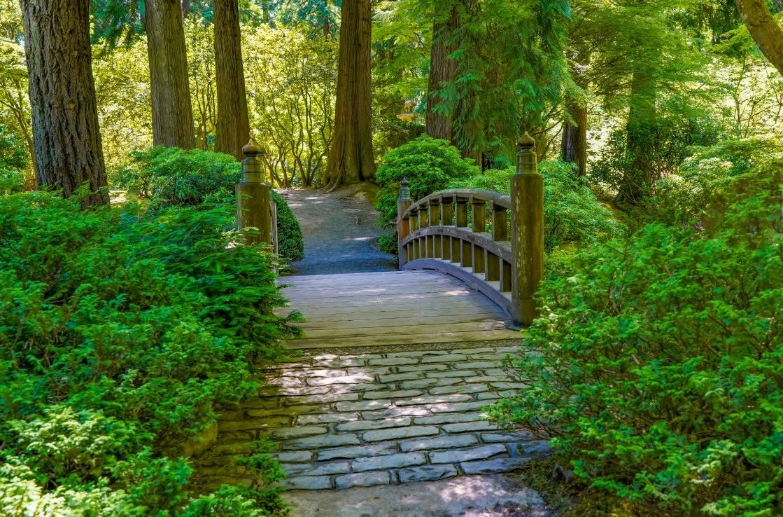 Der Japanese Garden in Portland.