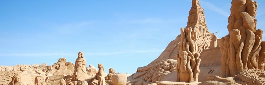 Mehr als Sand – Das FIESA Sandskulpturen-Festival in Pêra banner