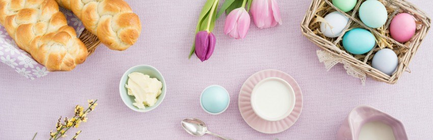 Easter food traditions from around Europe banner