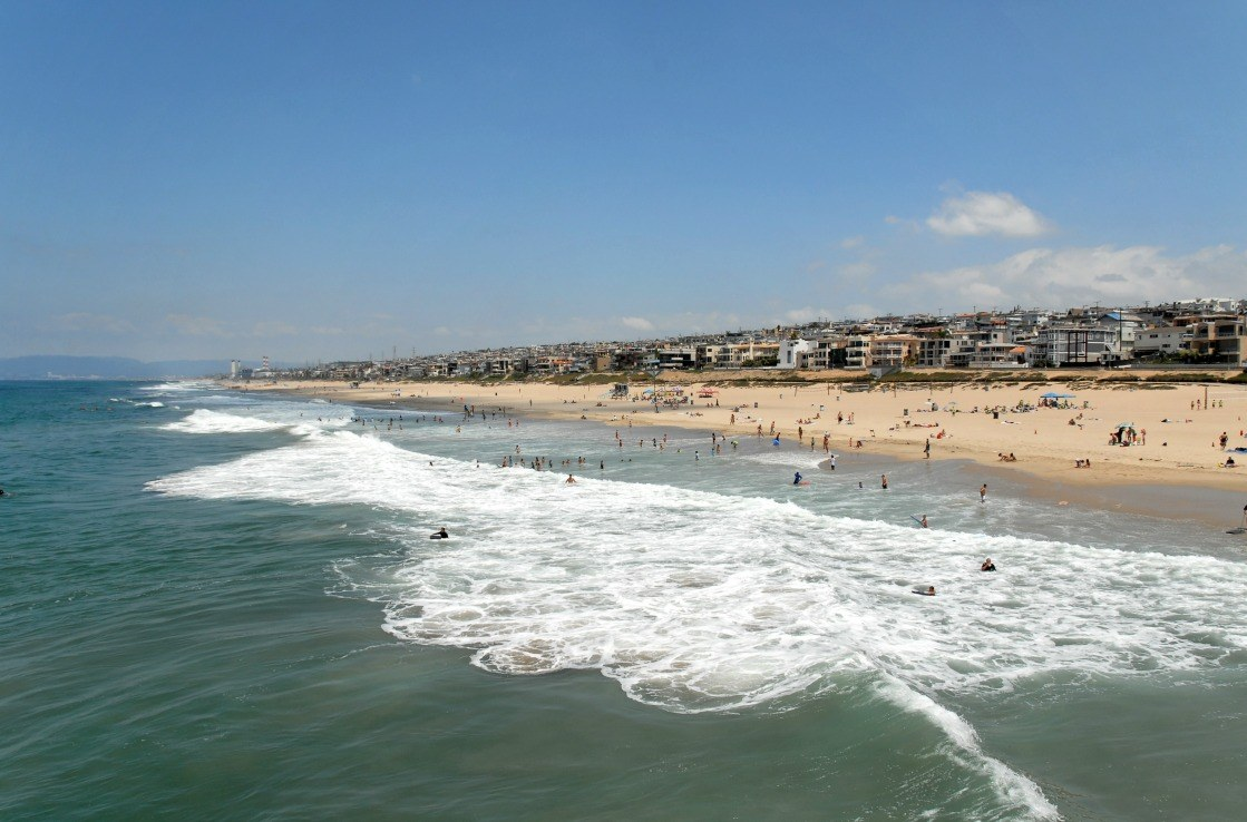 Manhattan Beach im Sommer