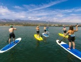 Stand Up-Paddling in Santa Barbara