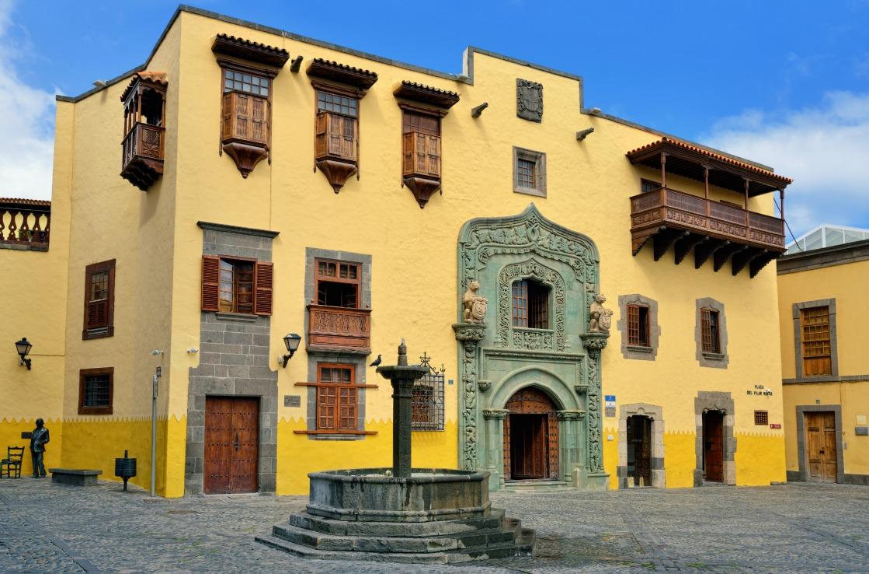 Das Kolumbushaus in Las Palmas von außen