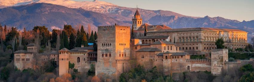 La mágica arquitectura de Granada banner