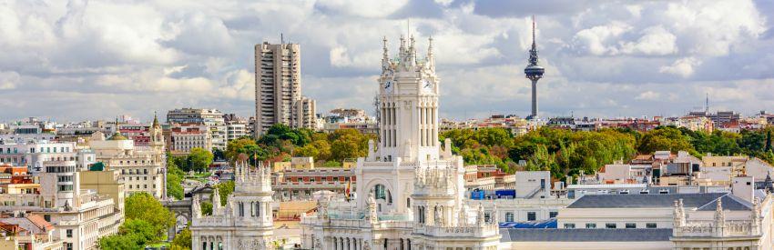 Lugares históricos de Madrid banner