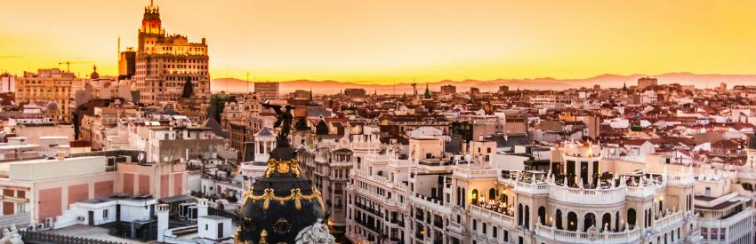 Madrid, un fin de semana en la capital de España banner