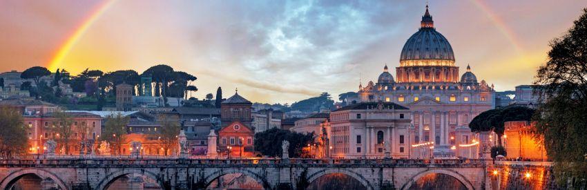 Un fin de semana en Roma banner