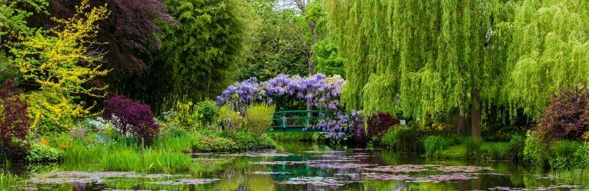 À la découverte de Giverny et des jardins de Monet banner