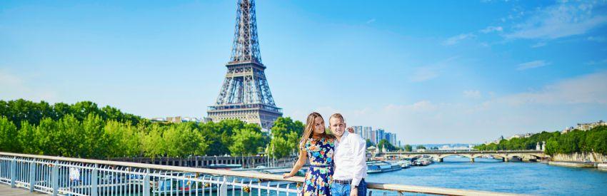 Lieux les plus romantiques de Paris banner