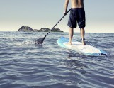 Faire du Stand-up paddle à Santa Barbara