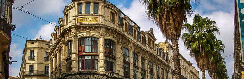Montpellier, une ville du sud à découvrir banner