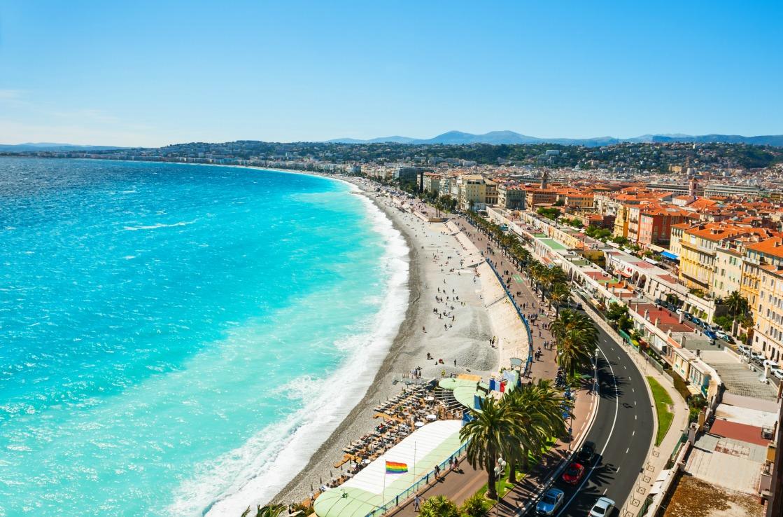 Sedie Blu Nizza : Le migliori spiagge di nizza