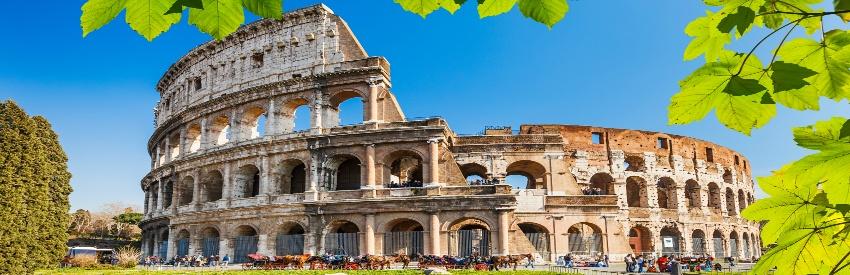 Visitare Roma in un giorno banner