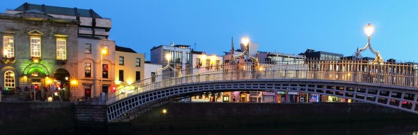 Dublino ed i suoi panorami mozzafiato  banner