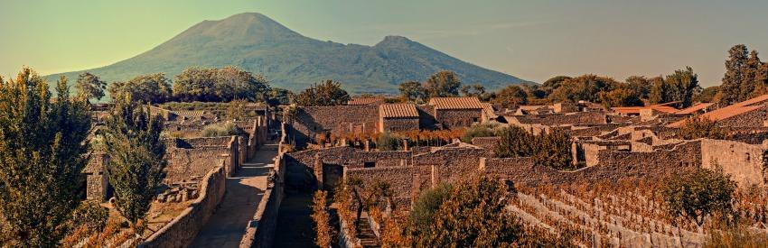 Pompei ed Ercolano: città vulcaniche assolutamente da visitare banner