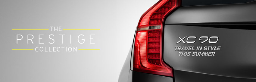 The all-new Volvo XC90 – first from Hertz banner