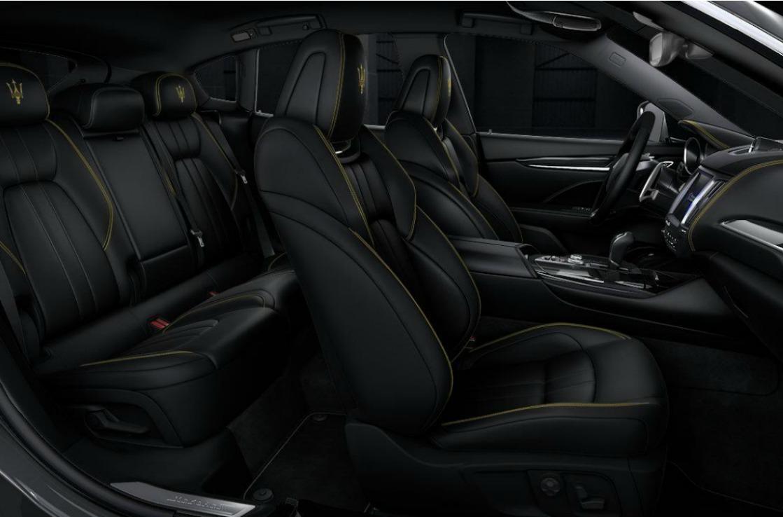 Innenausstattung des Maserati Levante