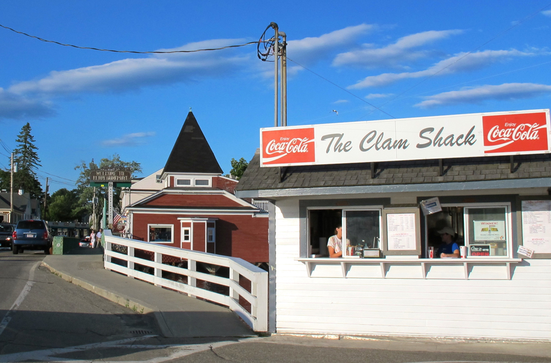 Kennebunk's Clam Shack.© Hilary Nangle