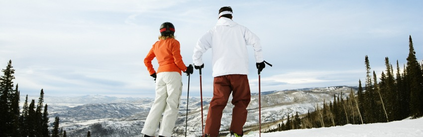Five Colorado resorts to visit for a skiing holiday banner