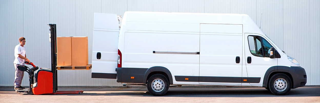 Hourly van hire