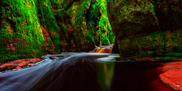 Finnich Glen and the Devil's Pulpit, Drymen