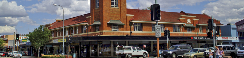 Car Hire Albury Downtown
