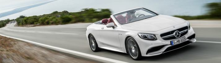Mercedes S63 AMG Convertible