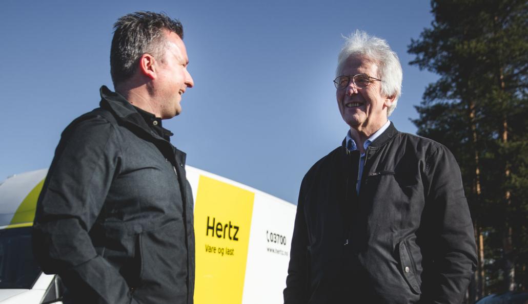 Bjørn Erik Lund og Rolf Longva