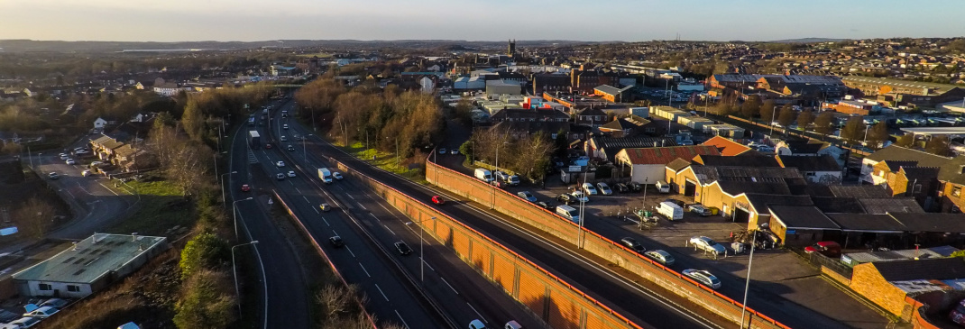 Driving in and around Stoke-on-Trent