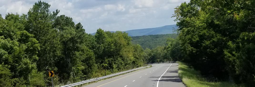 Driving in and around Huntsville