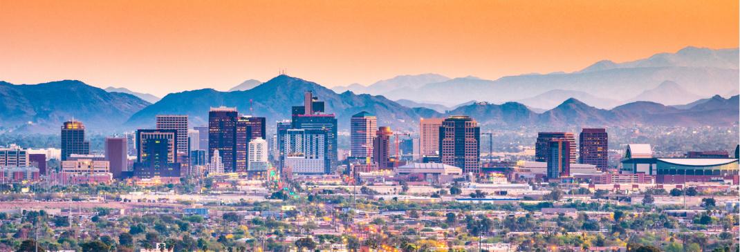 Top cities in Arizona