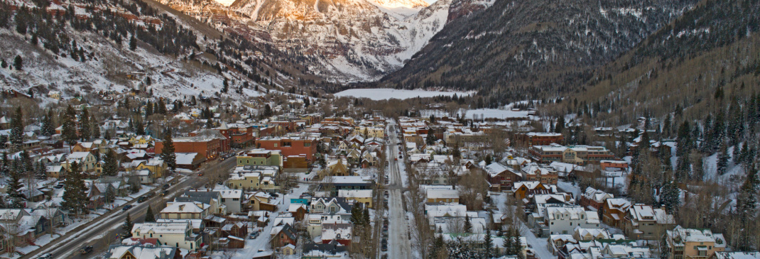 Driving in and around Telluride